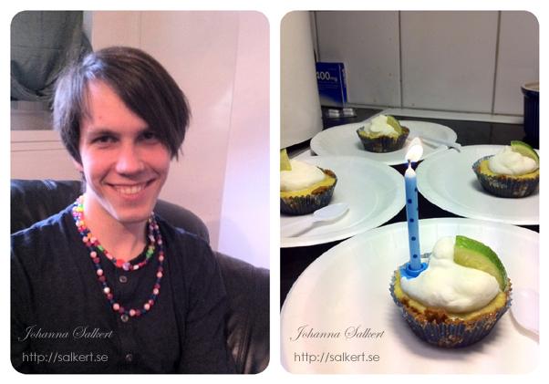 ekströms hallonmousse i tårta